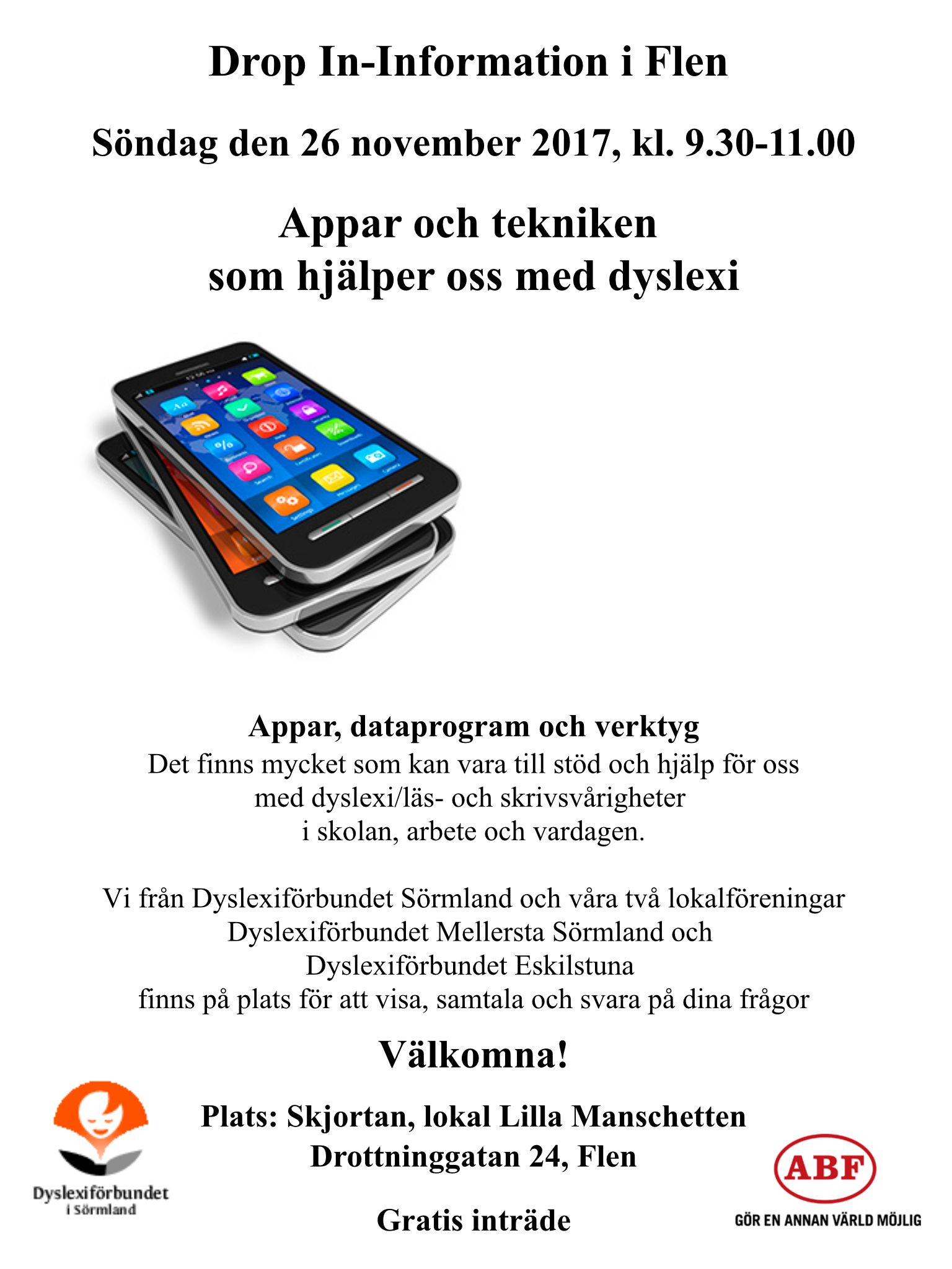 Drop In-Information i Flen
