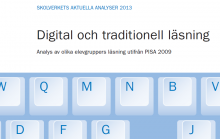 Rapport: Digital och traditionell läsning